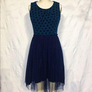 bbbcbf51928be Anthropologie Dresses - Anthropologie Weston Wear Polka Dot & Tulle Dress
